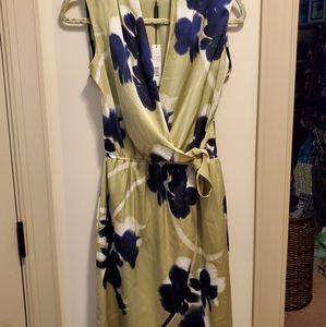 Elie Tahari 10 Halley Silk Blend Dress NWT